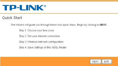 setting router tp link3