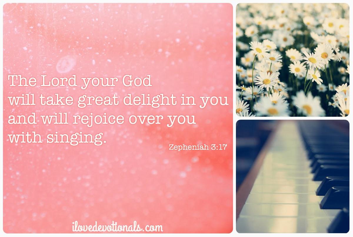 Zepheniah 3:17