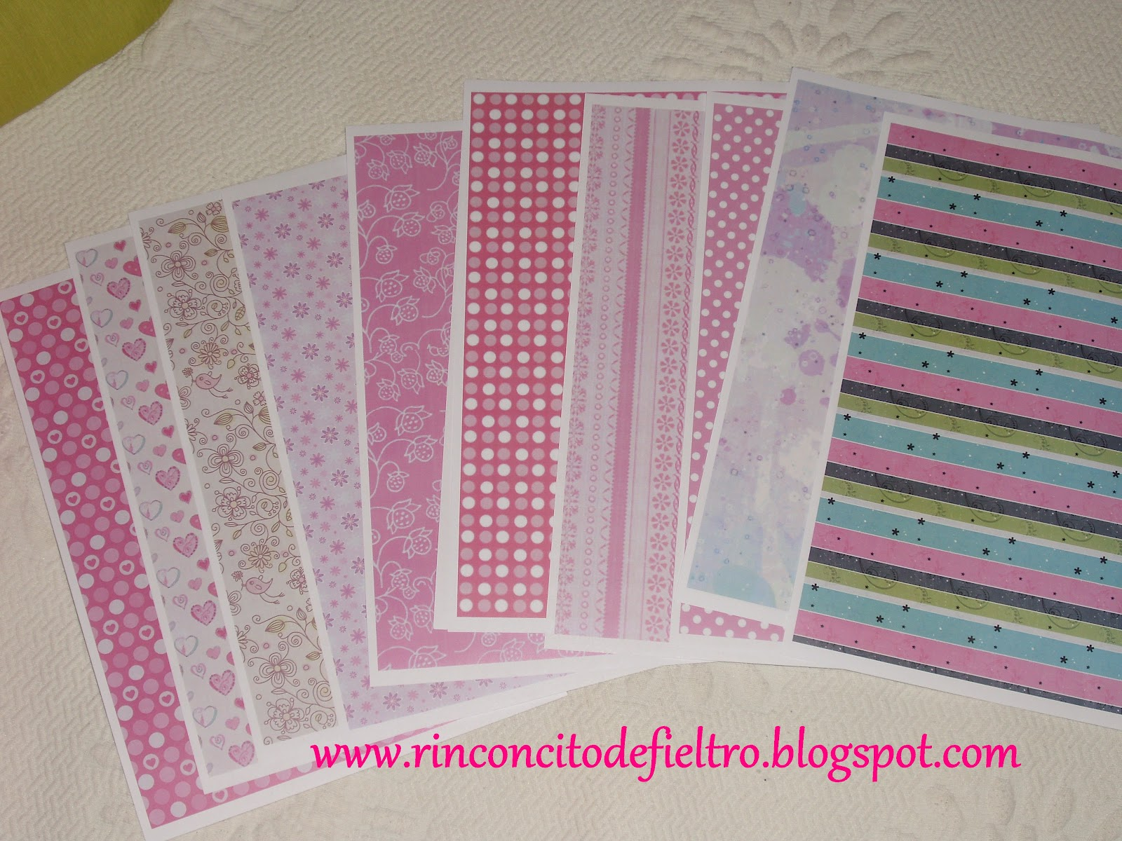 Mi rinconcito de fieltro ideas scrapbooking for Papel adhesivo decorativo para muebles