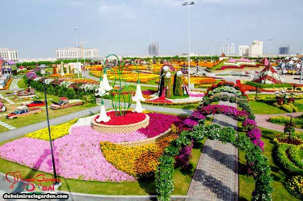 `The Dubai Miracle Garden