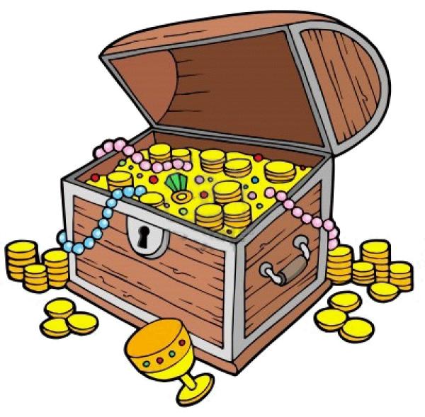 free treasure chest cartoon picture