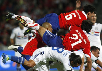 Chile 2 - 0 Paraguay (2)