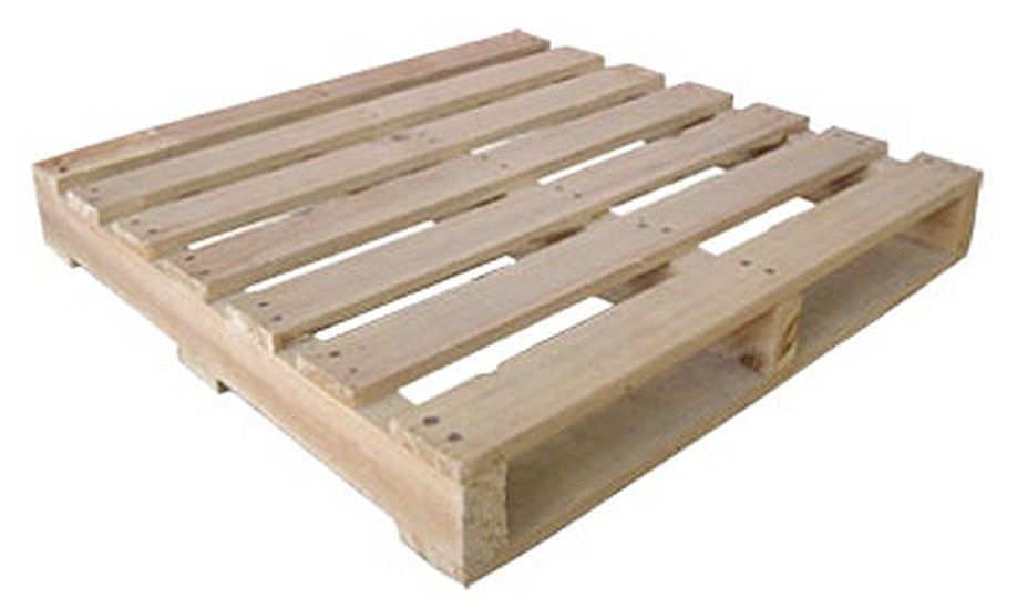 ... magazine, so we get tons of wooden pallets delivered to the house