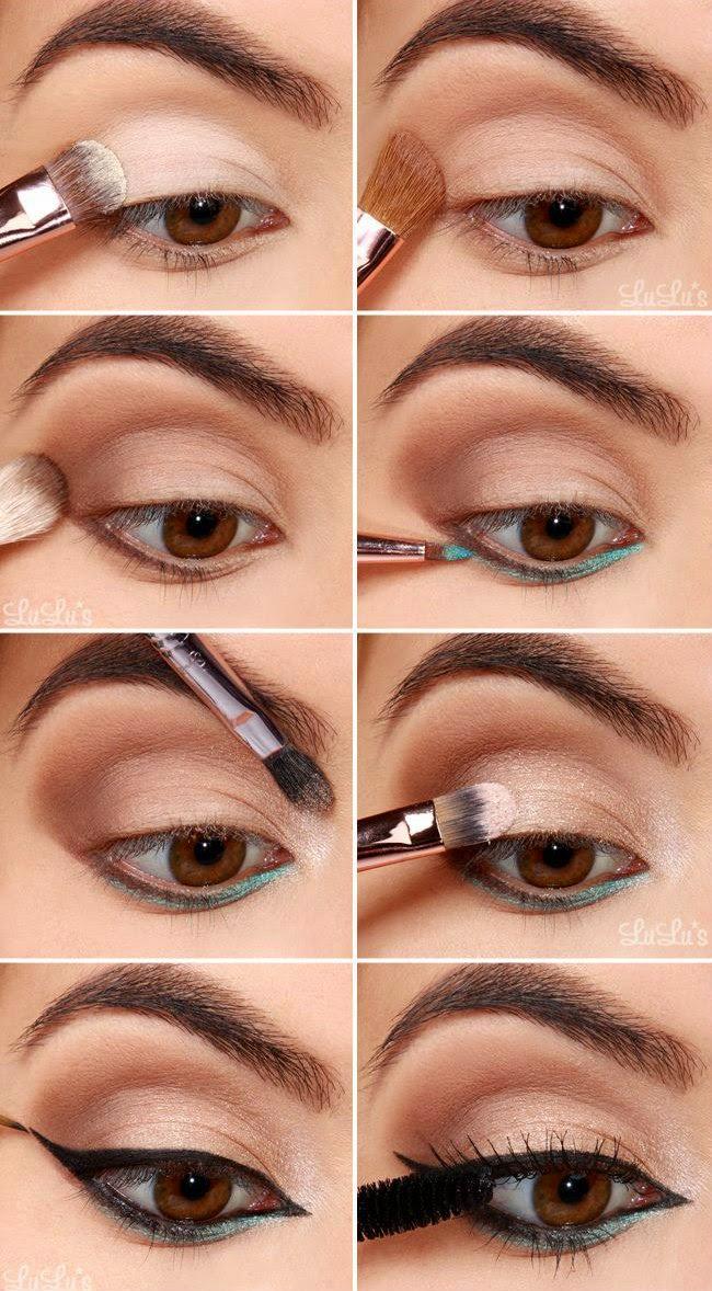 How-To: Emerald Green Eyeliner Tutorial