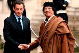 Kadafi financiou Sarkozy em 2007