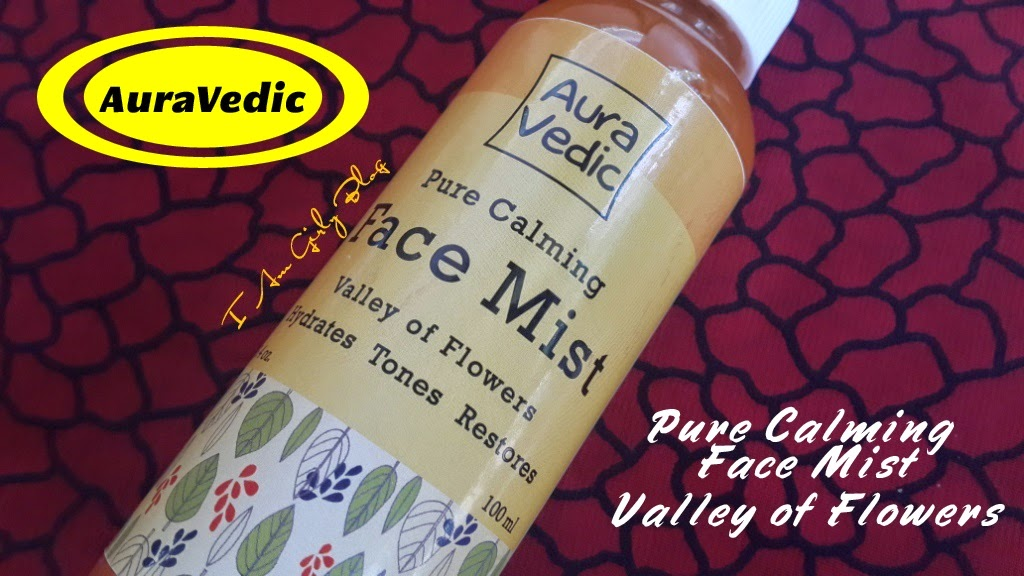 Aura Vedic Pure Calming Face Mist Valley of Flowers !