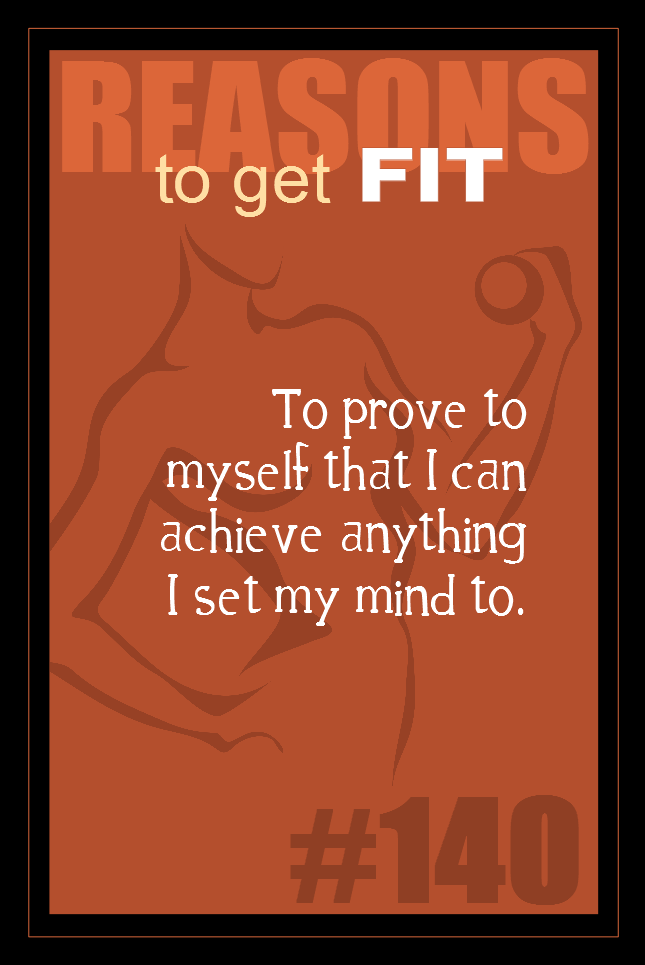 365 Reasons to Get Fit #140