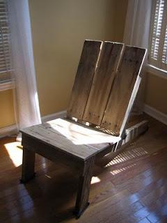 Hogar y jardin como hacer muebles caseros y reciclar palets - Como hacer sillas con palets ...