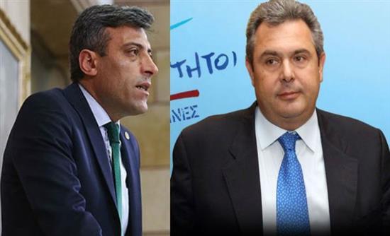 Πρωτοφανής απειλή Τούρκου βουλευτή σε Καμμένο για το «Μολών Λαβέ»: Θα φάει καμιά βαριοπούλα στο κεφάλι!