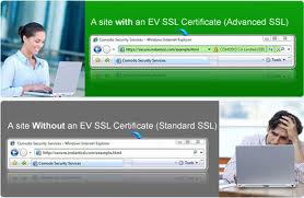 Green EV SSL Address Bar