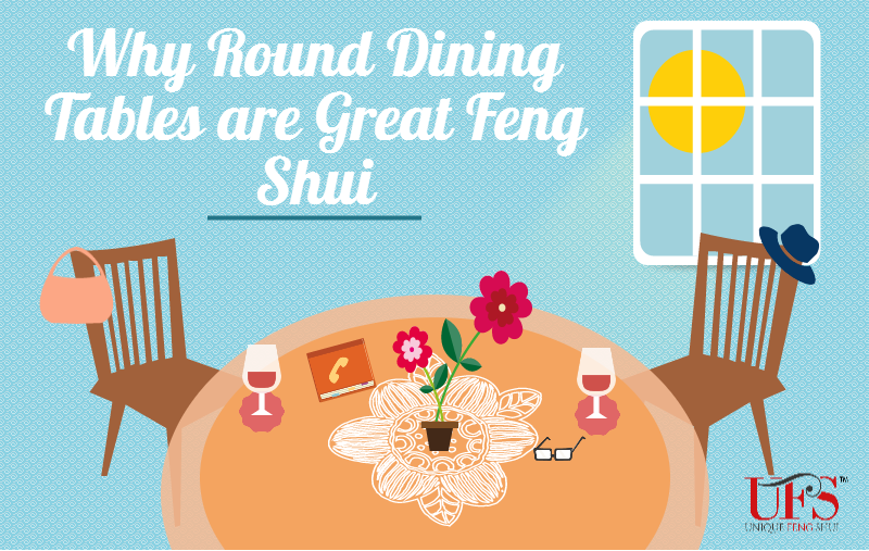 Round tables in feng shui