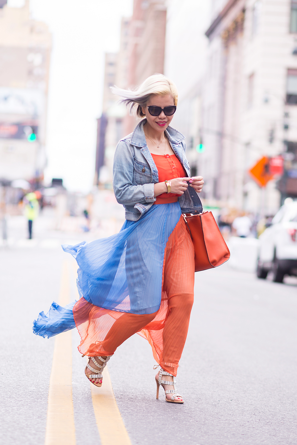 Crystal Phuong- New York Fashion Week 2015- Day 4 streetstyle