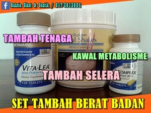 SET TAMBAH BERAT BADAN