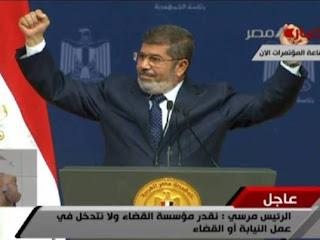«الرئيس محمد مرسي» يفتح النار على رموز النظام السابق في خطاب اليوم