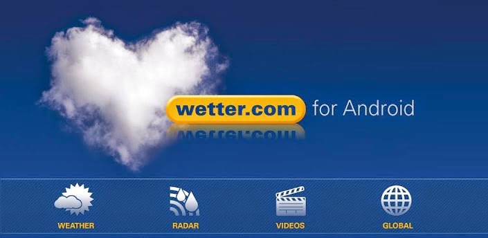 Wetter.com pour Android