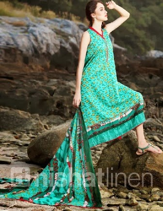 New Best Nishat Linen Pret 2014