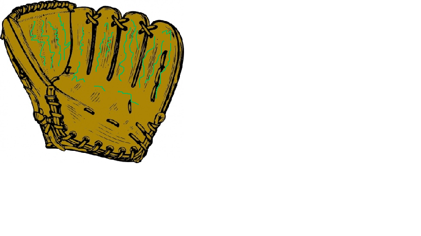 Allie's baseball mitt