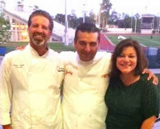 Drew Rogers, Cake Boss Buddy Valastro and Carla Rogers