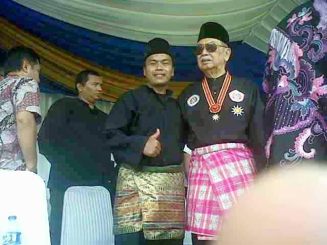 """Bersama Bapak Edi M Nalapraya """"Mantan Presiden Persilat"""""""