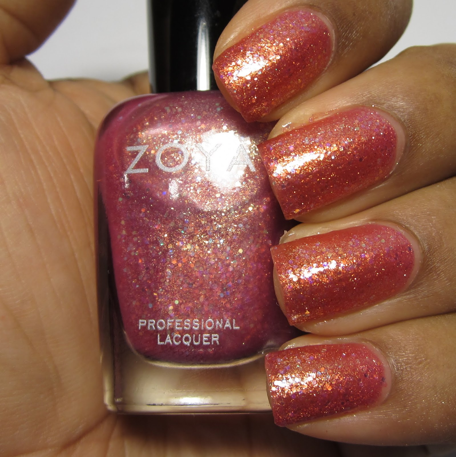 Zoya Binx Bubbly Collection purple nail polish swatch