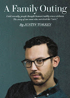 Feature story by Justin Torres, 'A Family Outing,' Out magazine, September 2012 p, 88