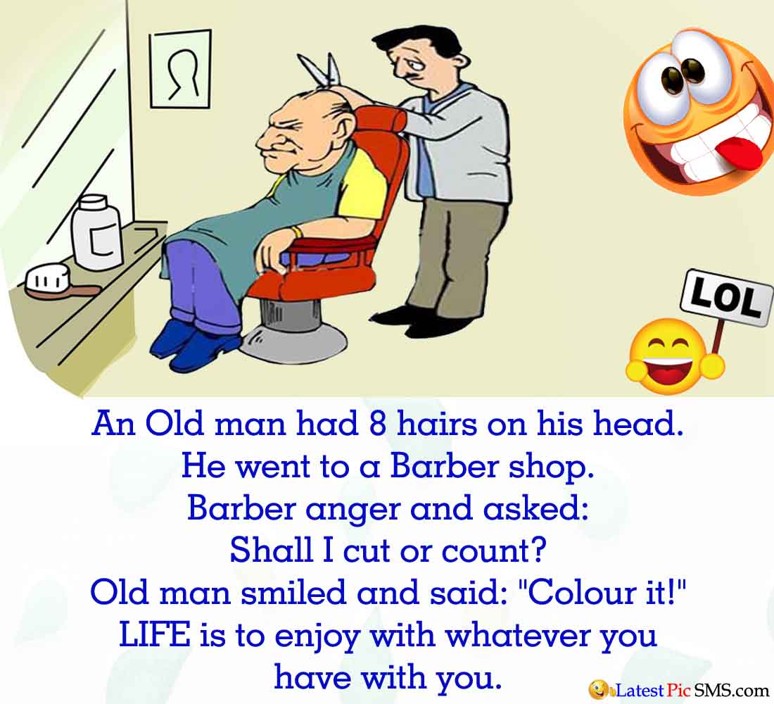 Barber Funny English Jokes