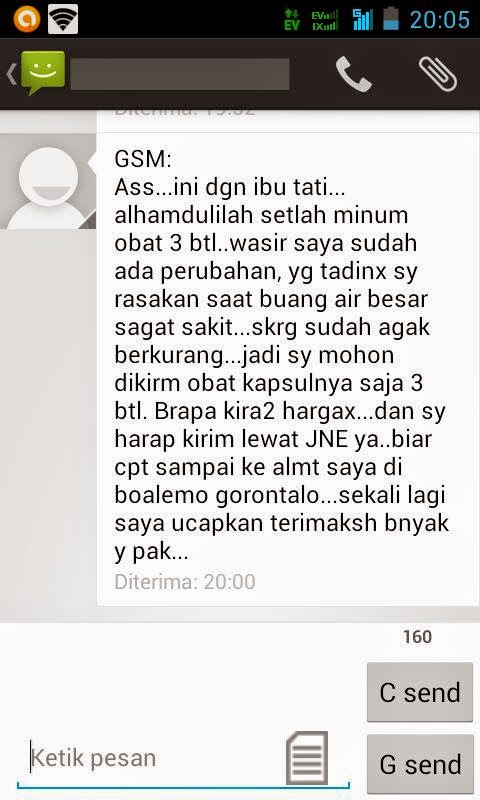 Testimoni Screenshot Pasien