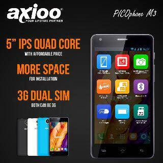 Axioo Picophone M3 Android Murah 5 inch Rp 999 Ribu