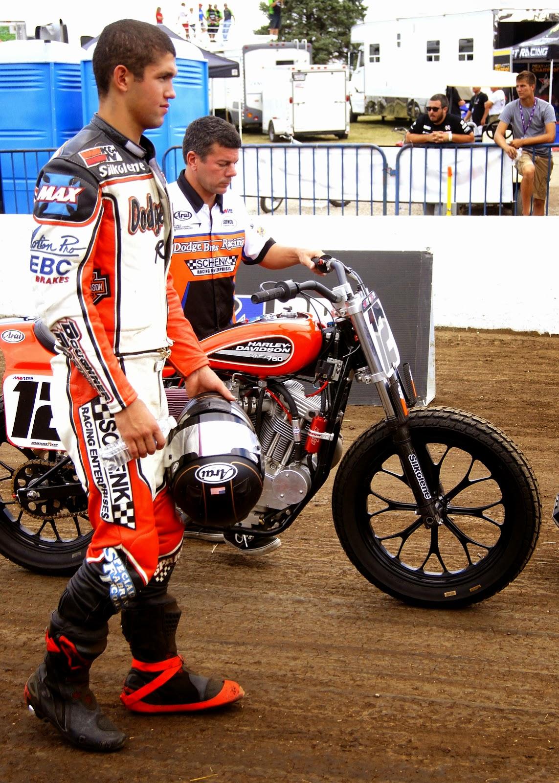 Image result for Motorsports rider Keith Higgins
