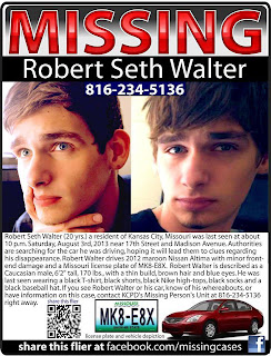 MISSING/DROWNED: Robert Seth Walker