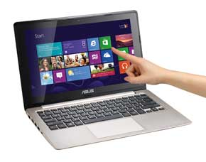 touch notebook computer