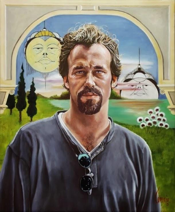 Талантливый американский художник. Lennie Muscarella