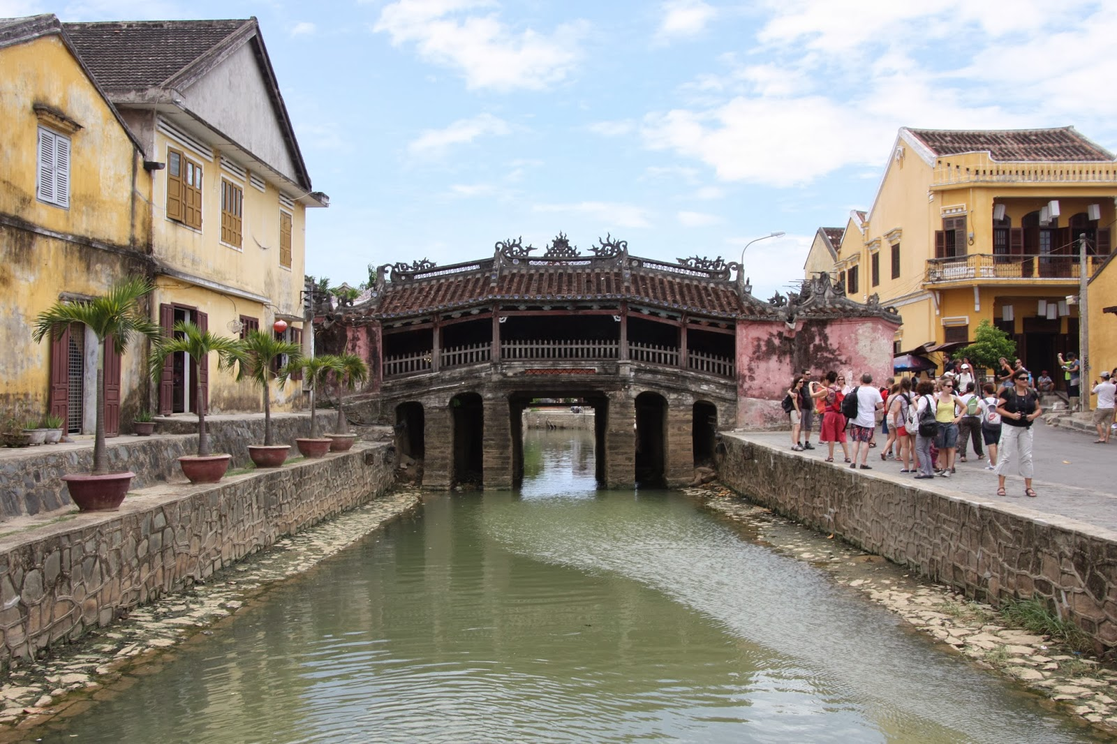 Japanese Covered Bridge Pagoda Hoi An