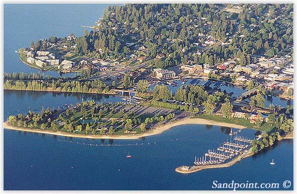 Sandpoint City Beach Park Sandpoint Id