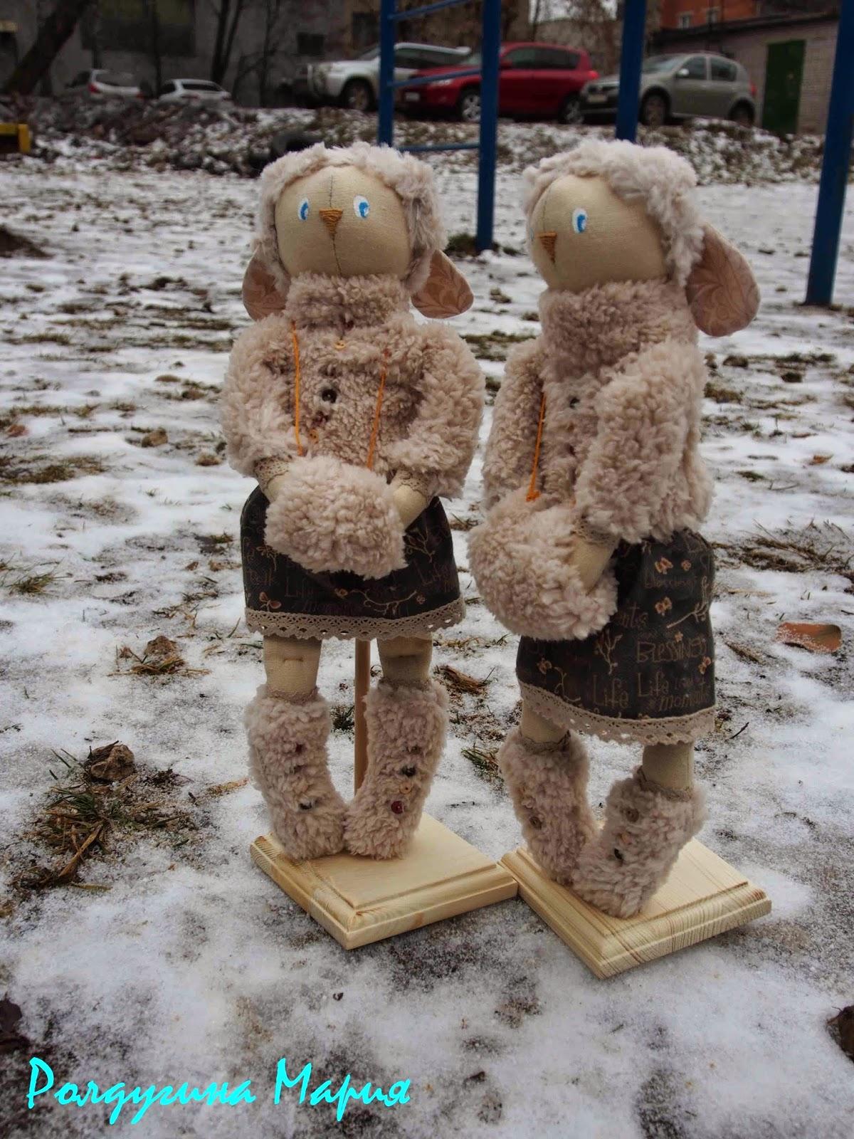 овечка игрушка новый год