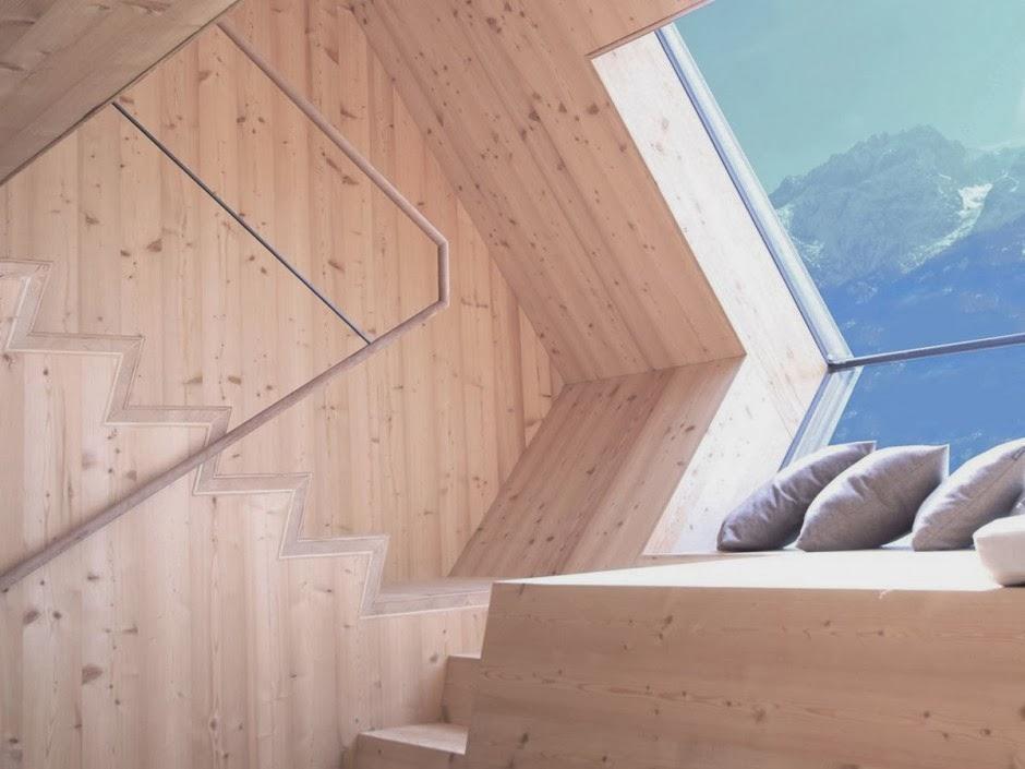 Gambar Desain Rumah Panggung Kayu Model Minimalis Sederhana 19