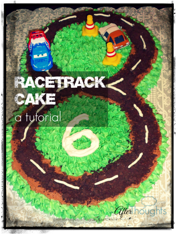 How to Make a Racetrack Cake: a Tutorial