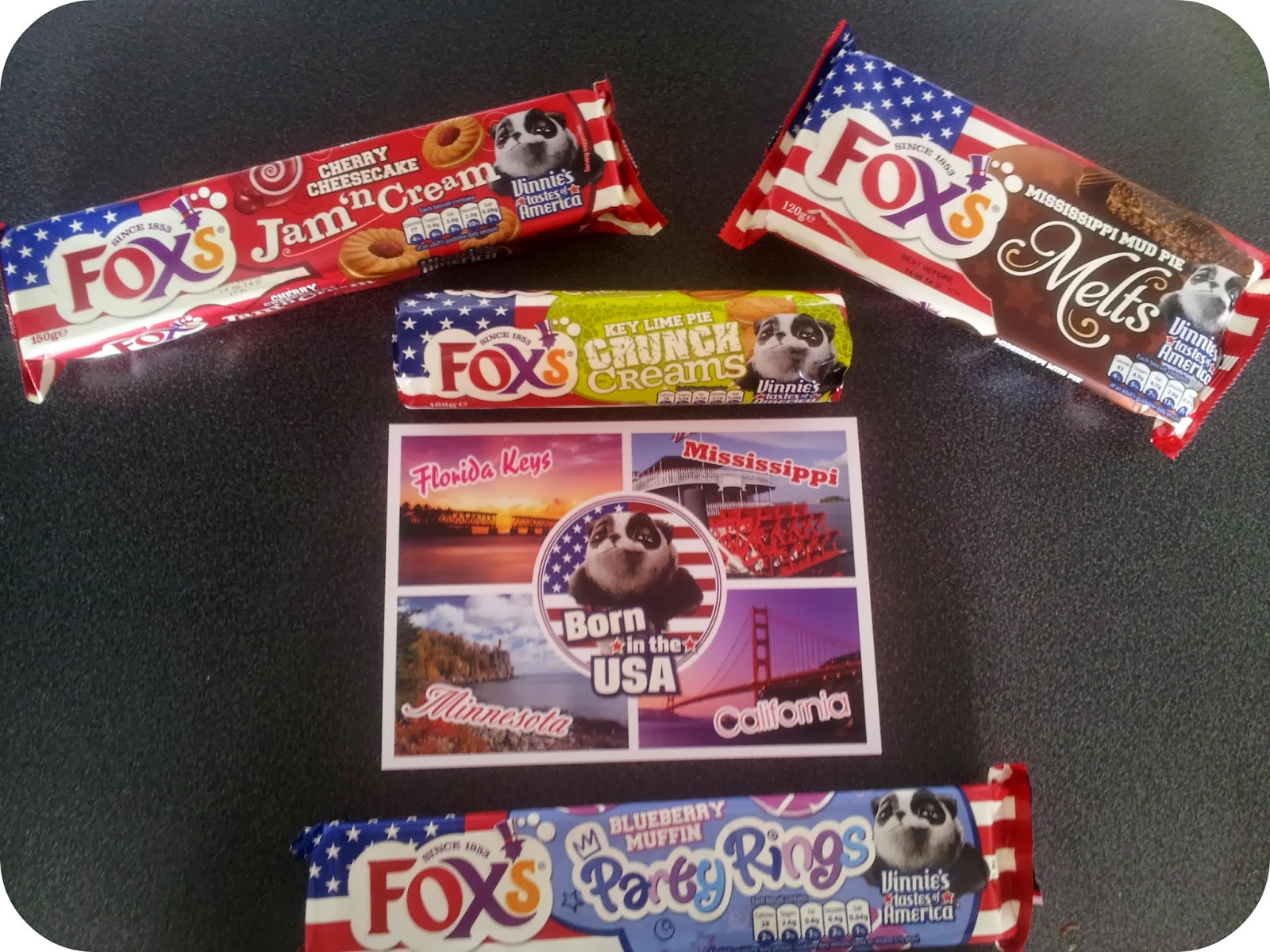 Foxs Biscuits Taste of America, My Mummys World