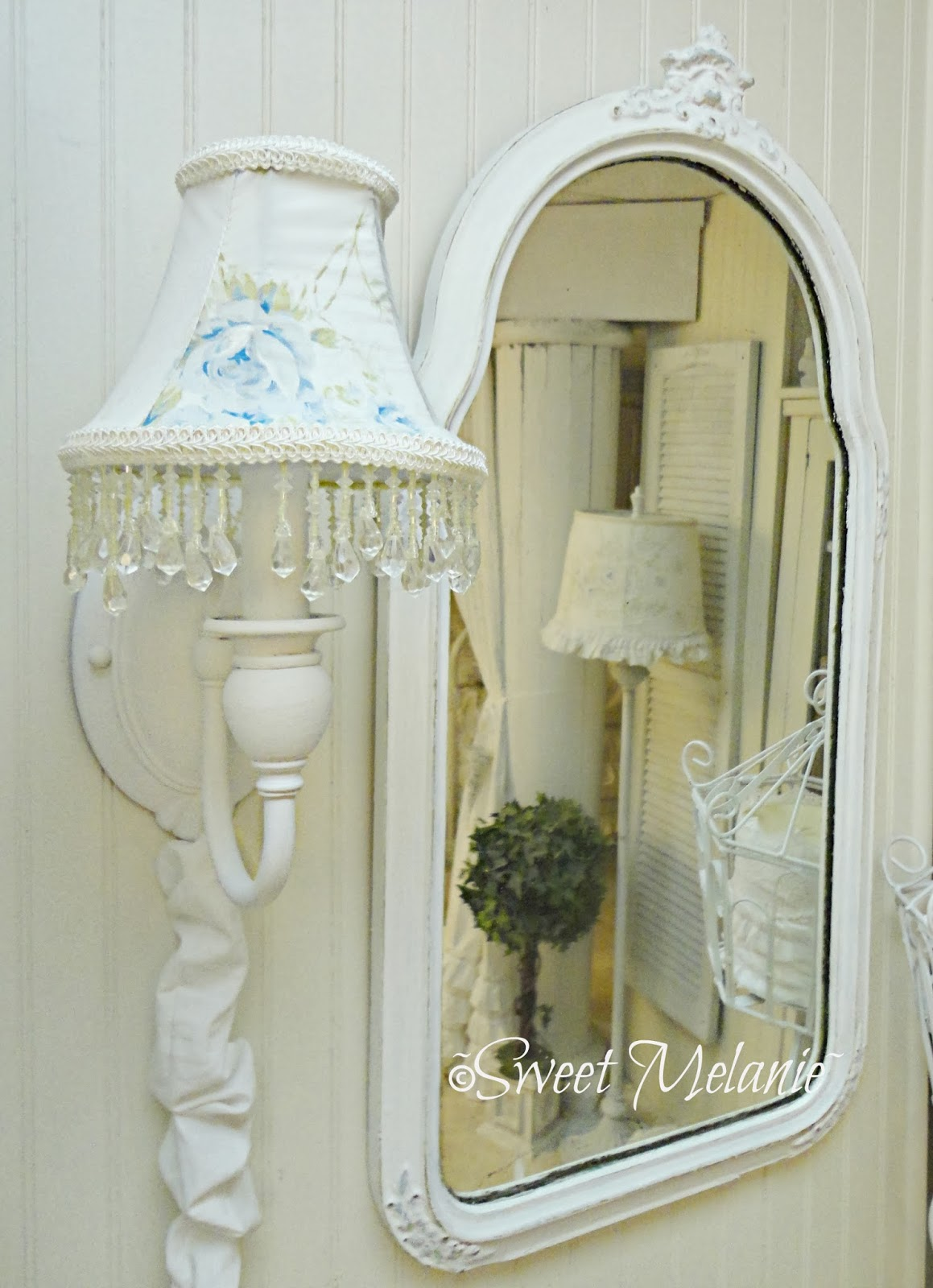 Sweet Melanie~: British Rose Wall Sconces