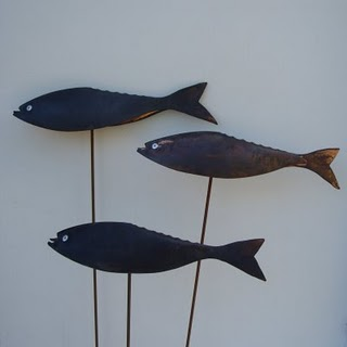 Copper Patinated Fish £45