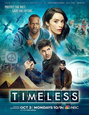 Série Timeless - 1ª Temporada 2017 Torrent
