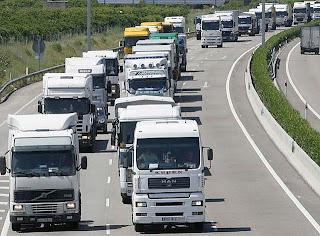 Características del transporte por carretera