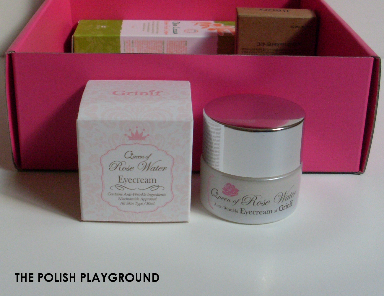 Memebox Superbox #76 While You Were Sleeping Unboxing - Grinif Queen of Rose Water Eye Cream
