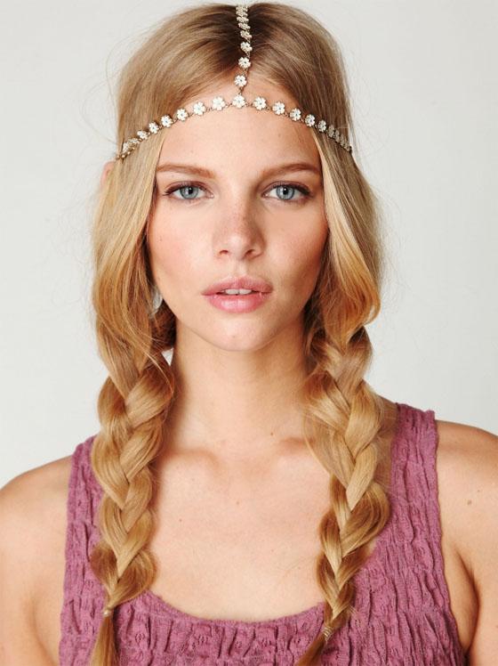 Peinados Hippie Chic Con Trenzas - Más de 1000 ideas sobre Peinados Hippie en Pinterest Cabello De
