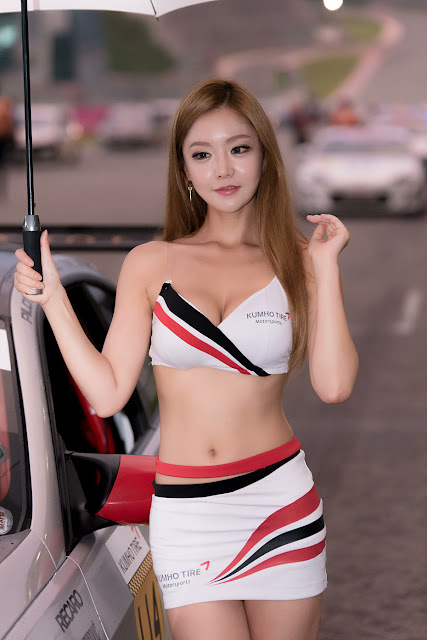 1  Yu Jin - CJ Super Race R5 - very cute asian girl-girlcute4u.blogspot.com