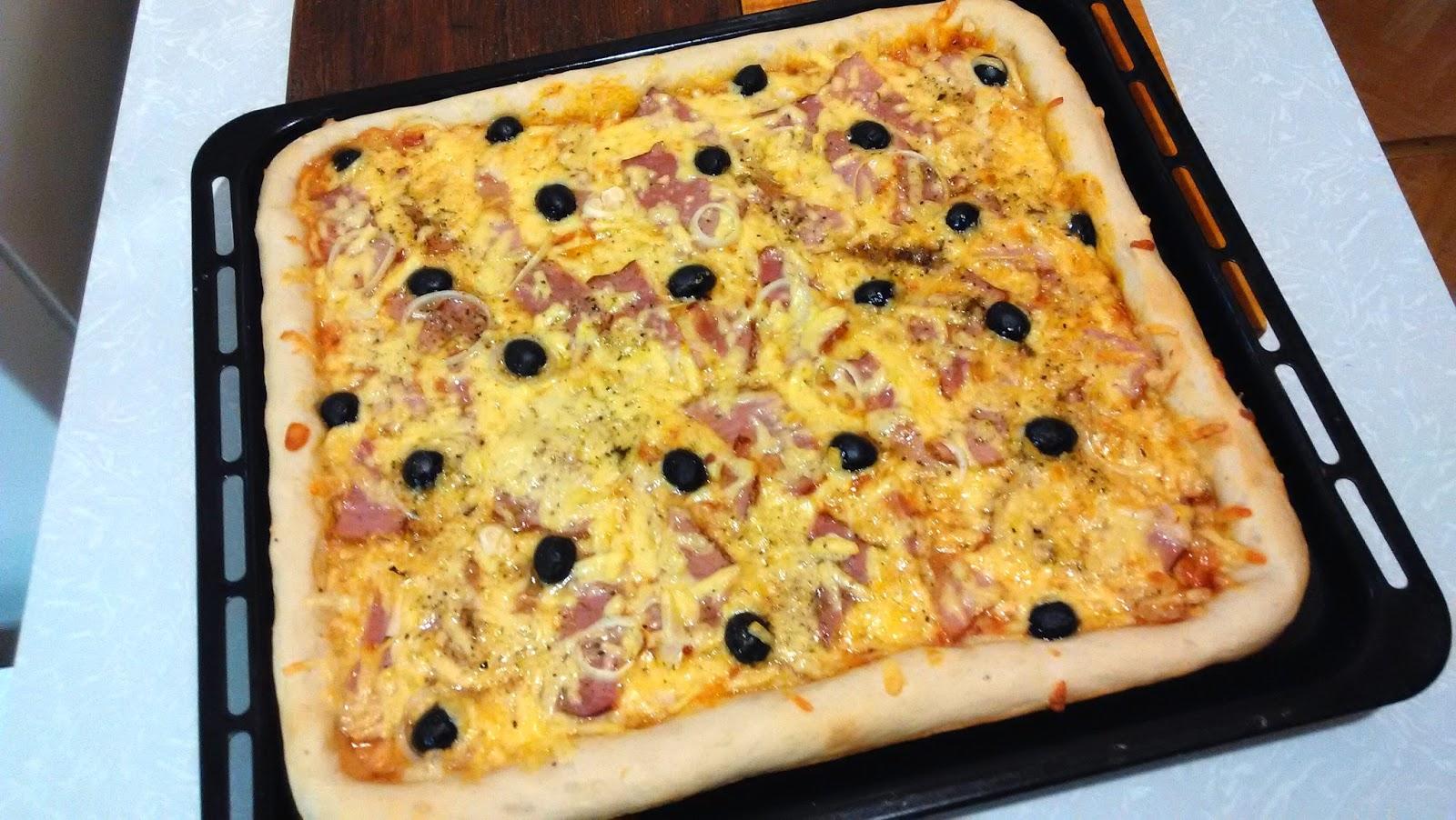 Приготовление пиццы в домашних условиях Для дома, для семьи 83