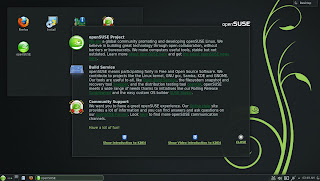 openSUSE 12.3 DARTMOUTH KDE RC1 DEFAULT DESKTOP