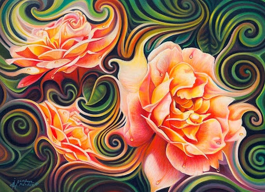 diseños-de-flores-modernas