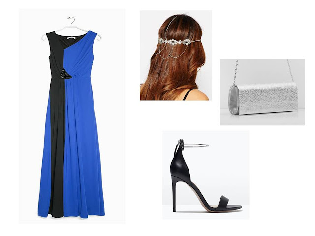 look-boda-wedding-negro-azul-plateado