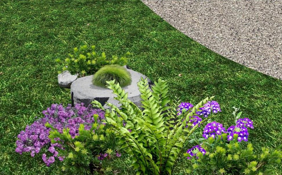 Dise os 2d de jardines fotos renders sobre varias - Diseno jardines y exteriores 3d ...
